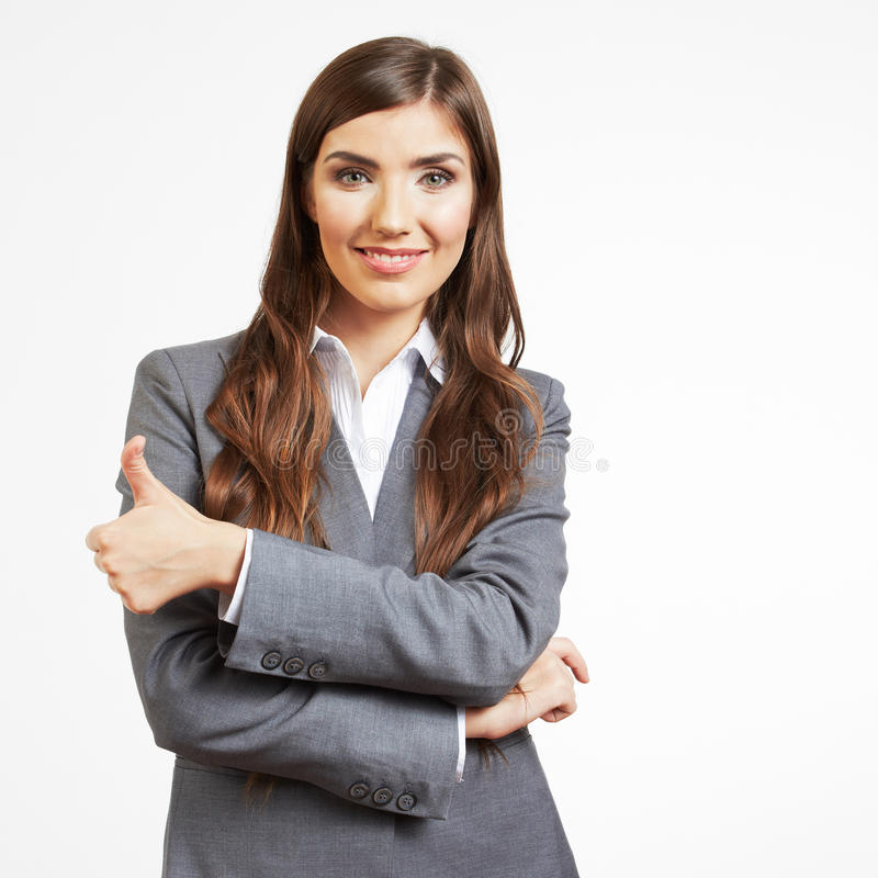 Download Business Woman Portrait Isolated On White Stock Photo - Image: 31155640