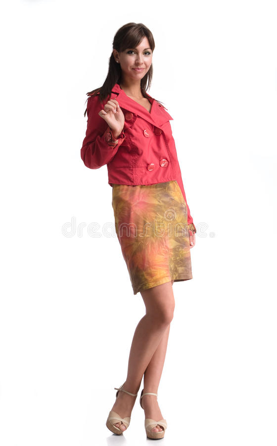 Business woman posing stock image