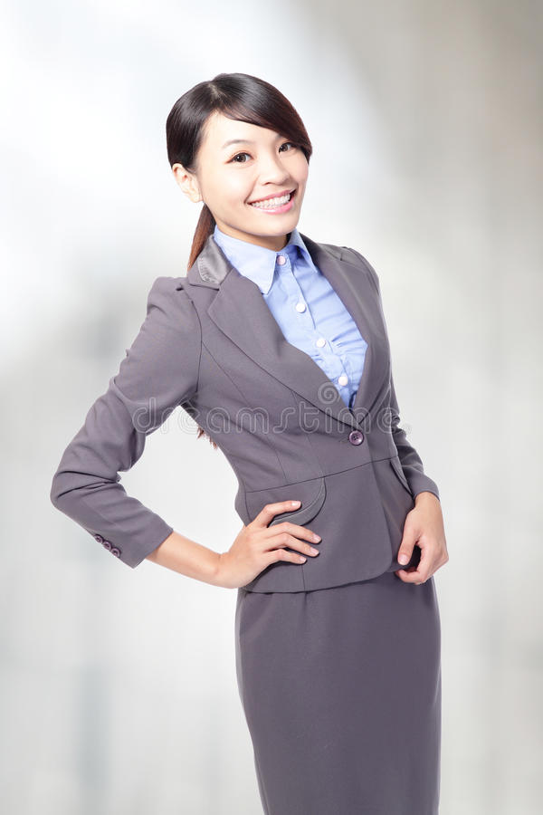 Download Business Woman Smile Royalty Free Stock Photo - Image: 29586865