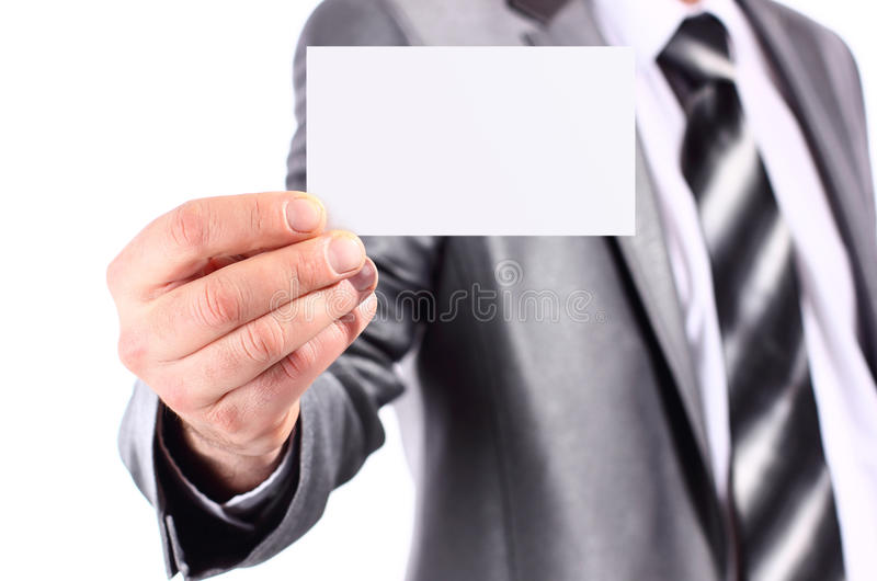 Business Woman Smiling Over White Background Stock Photo