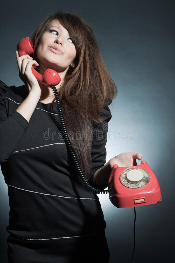Download Business Woman Speaking On A  To Phone. Stock Photo - Image: 16969970