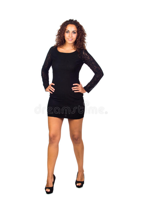 Business Woman Standing And Smiling Royalty Free Stock Photo