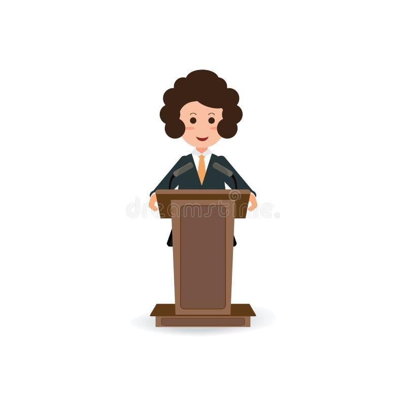 Audience, microphone, podium, speak, speaker, speech, stage icon ...