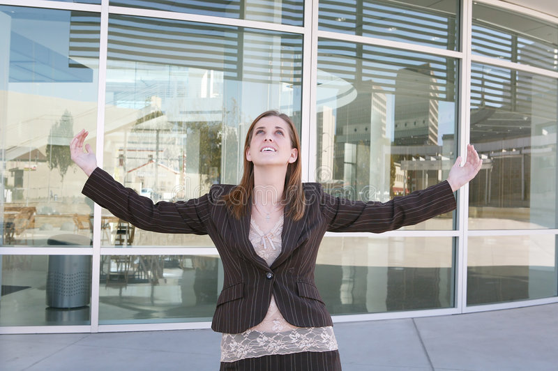 Download Business Woman Success Stock Photo - Image: 1711980