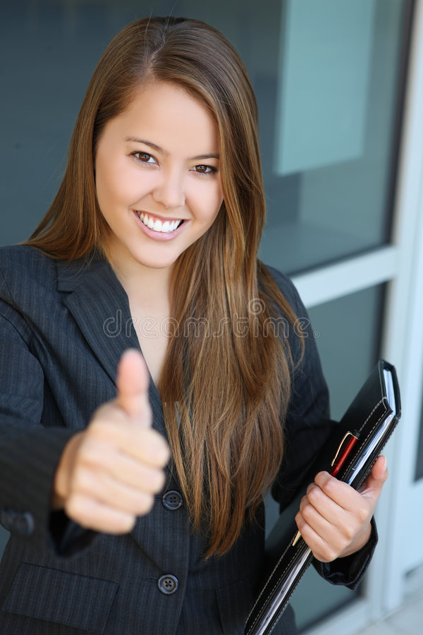 Download Business Woman Success stock photo. Image of binder, businesswoman - 6229658
