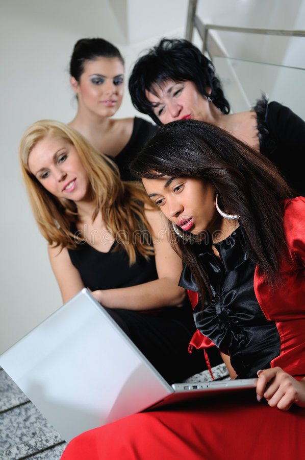 Business Woman Team Royalty Free Stock Image