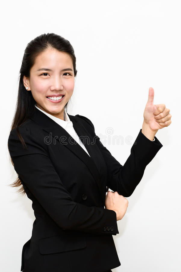 Business Woman Thumb Up Royalty Free Stock Images