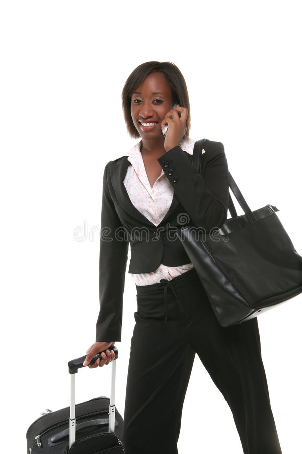 Business Woman Travelling stock photos