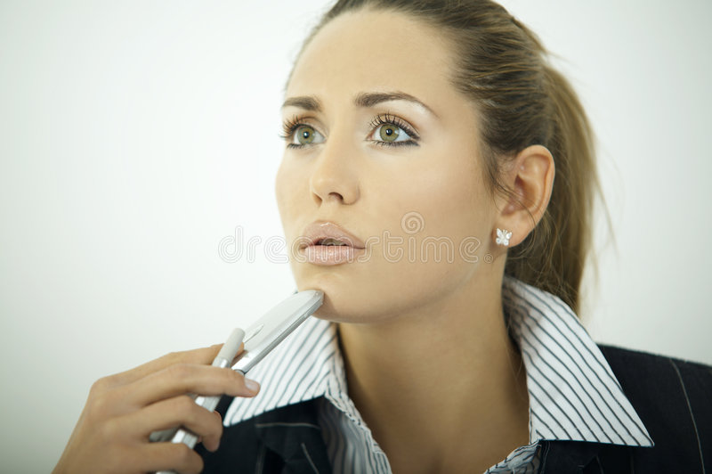 Download Business Woman V stock photo. Image of person, employee - 2154220