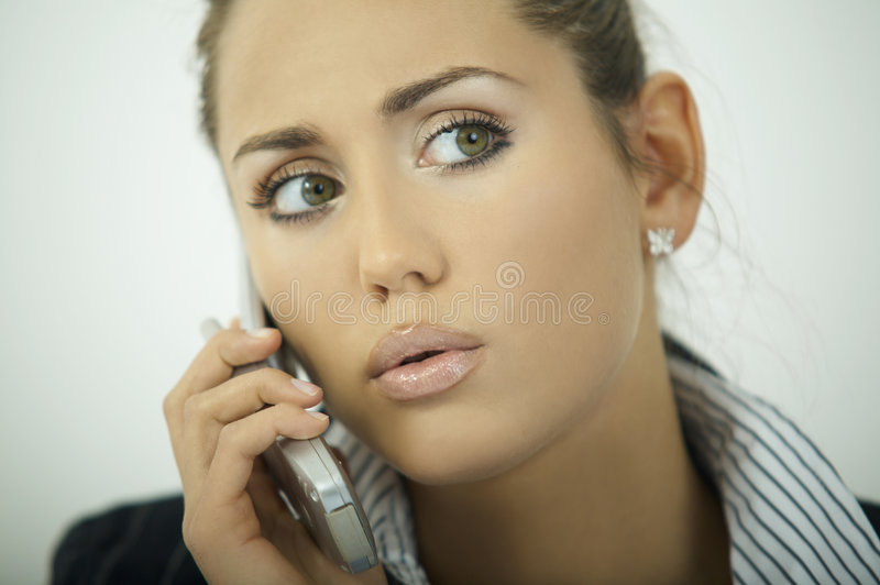 Business Woman V Stock Image
