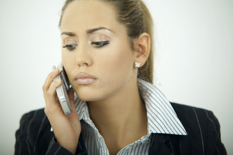 Download Business Woman V stock photo. Image of phone, businesswoman - 2154224