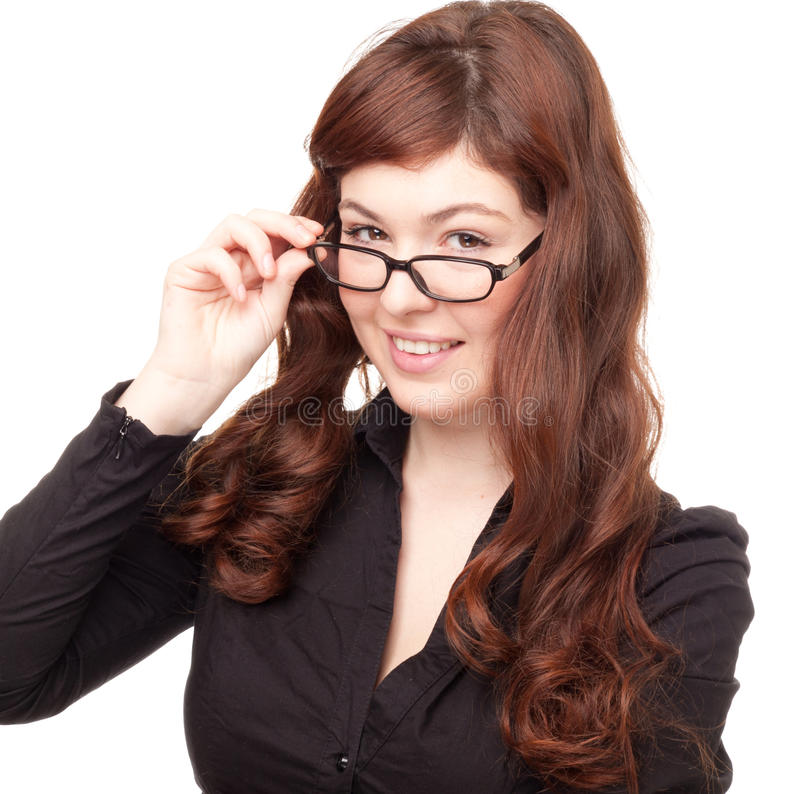 Free Business Woman With Glasses Royalty Free Stock Photos - 18969418
