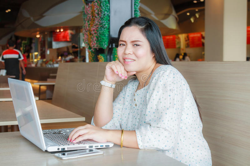 Business Woman Working stock photo