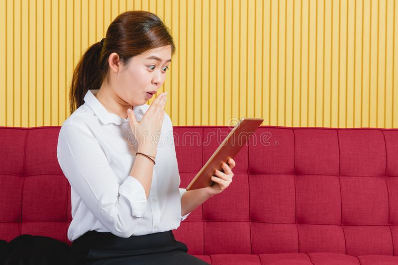 Business woman working stock images