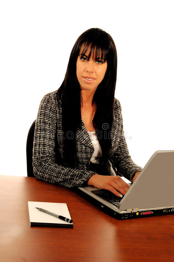 Download Business WomanAt Computer stock photo. Image of ecommerce - 160016