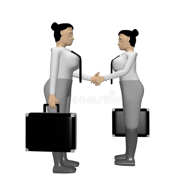 Download Business women stock illustration. Image of business - 13466056