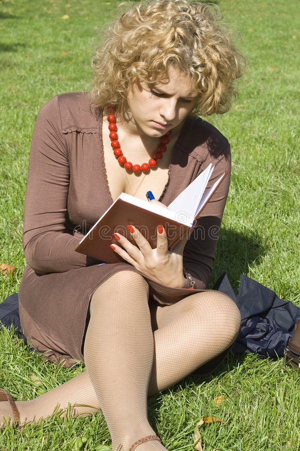 Download Business Women With Notebook Stock Photo - Image: 3224690