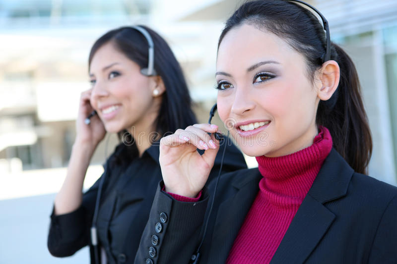 Download Business Women at Office stock image. Image of operator - 17068071