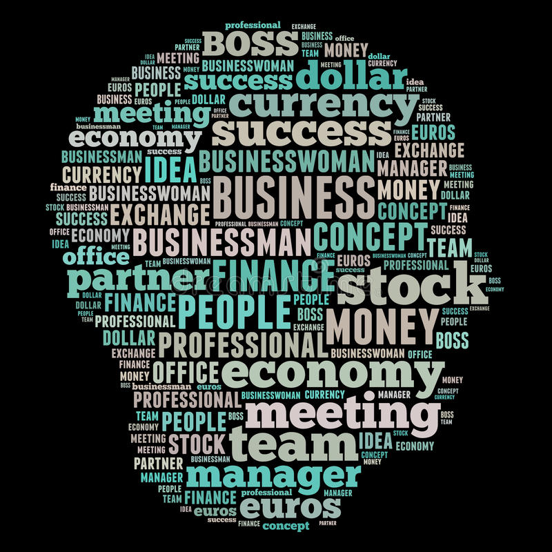 Download Business Word Cloud Royalty Free Stock Photos - Image: 30977548