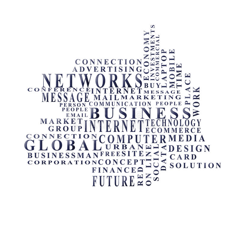 Download Business words stock photo. Image of adjectives, idea - 28648242