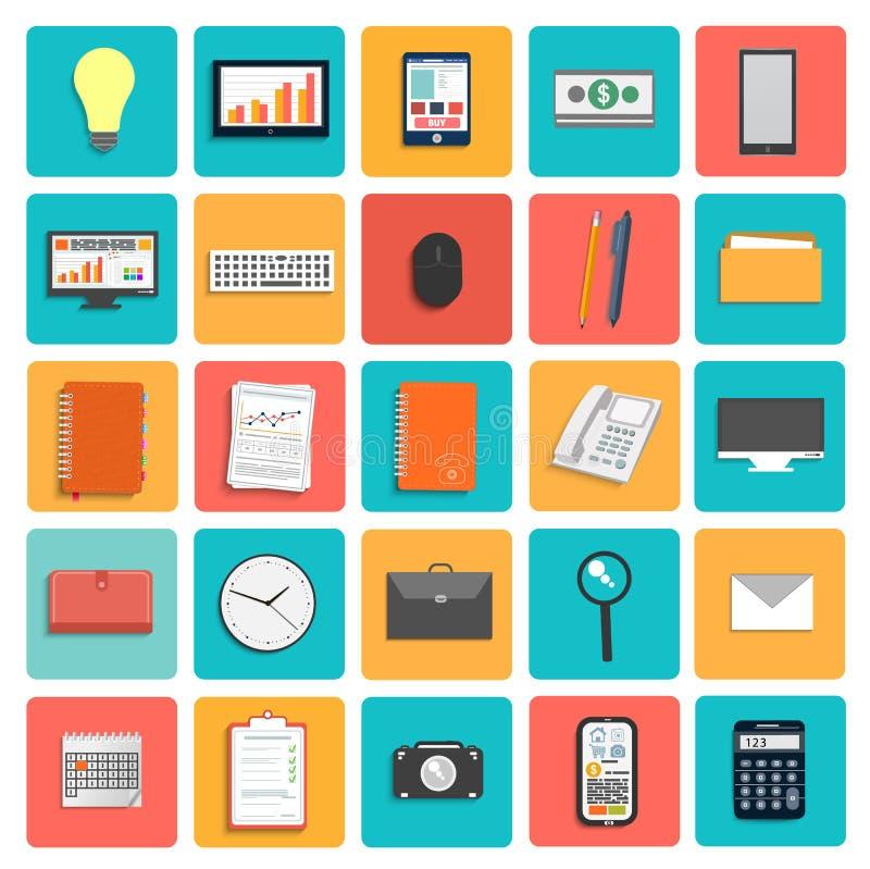 Business work elements vector illustration