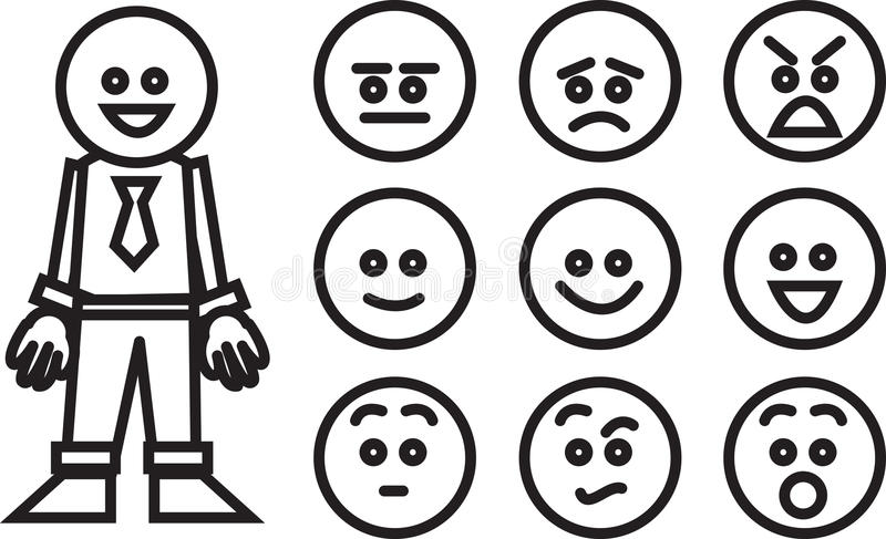 Download Business Worker Expressions Royalty Free Stock Images - Image: 27304719
