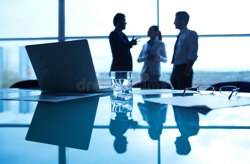 Business workplace royalty free stock photography
