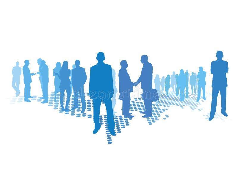 Business world vector illustration