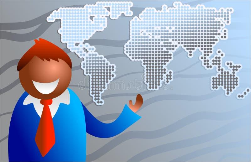 Business world royalty free illustration