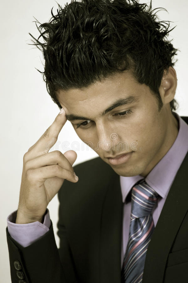 Download Business Worry Stock Image - Image: 17400661