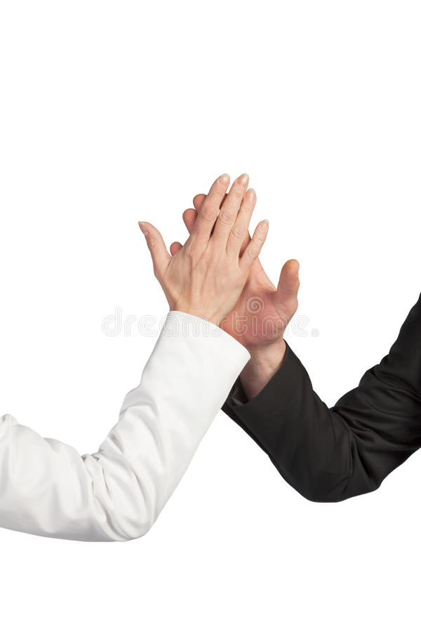 Business wrestling. A Business Team is starting an indian wrestling stock images