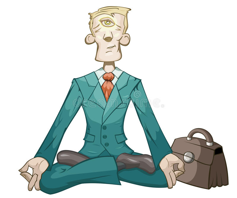 Download Business Yoga Royalty Free Stock Images - Image: 12322529