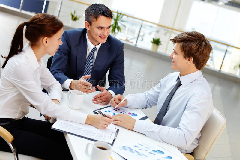 Business youth royalty free stock photography