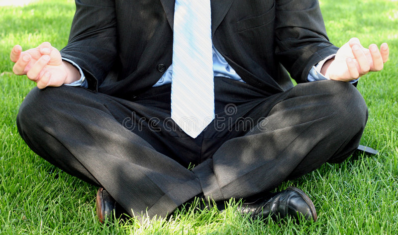 Business Zen royalty free stock photo