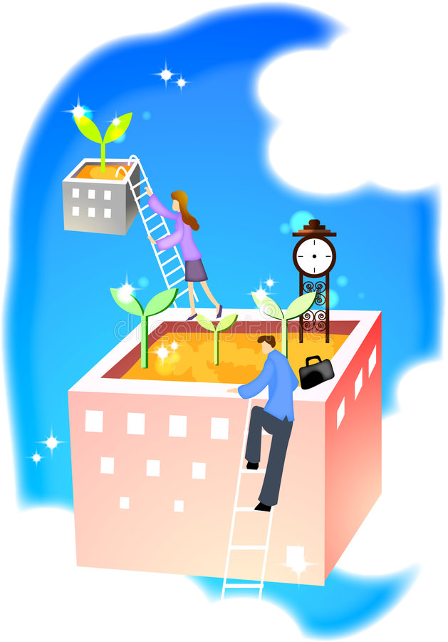 business19 royalty ilustracja