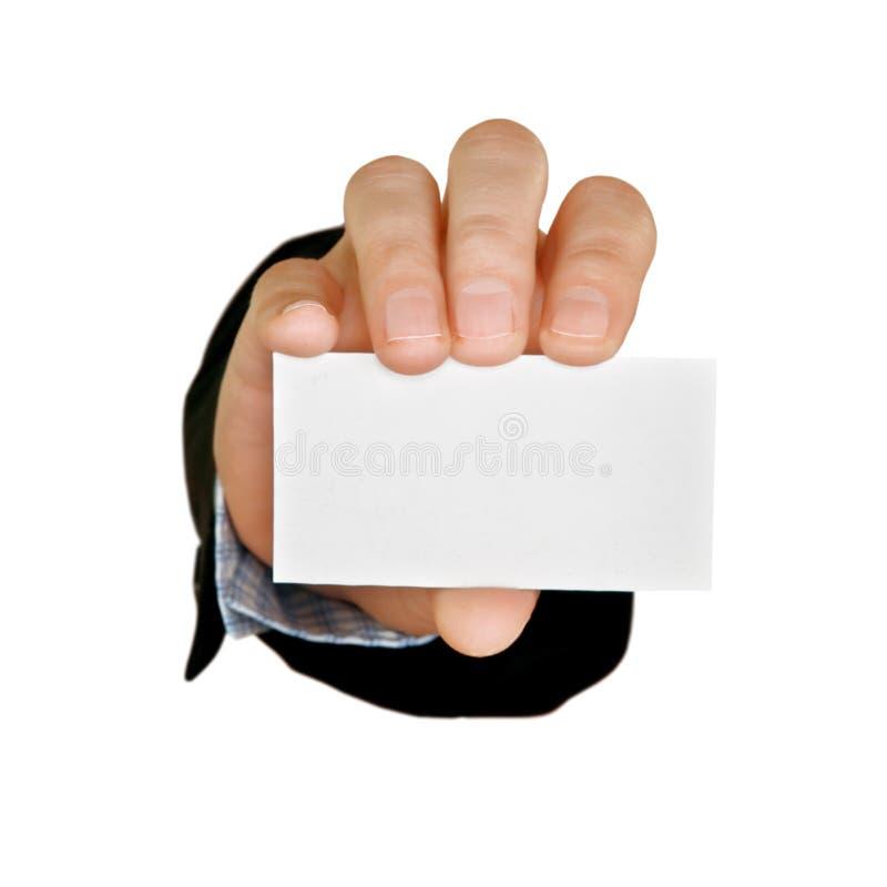 Businesscard fotografie stock libere da diritti
