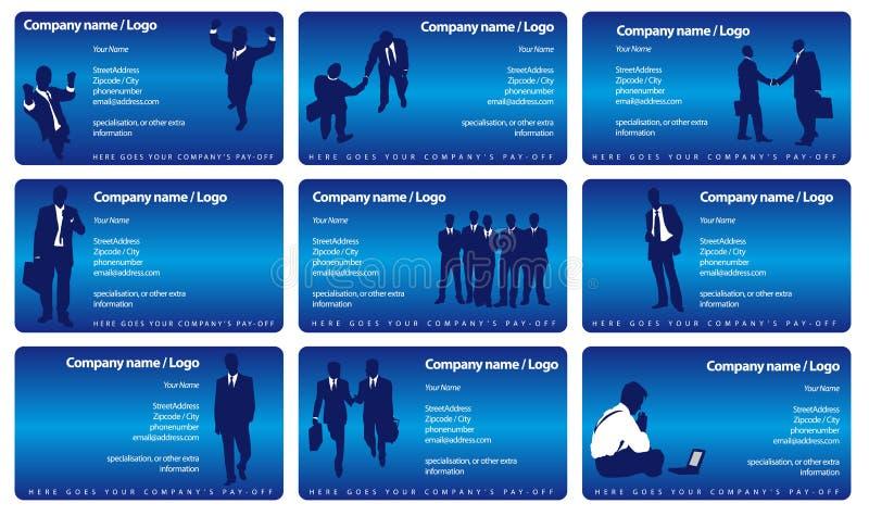 Businesscards di vettore illustrazione vettoriale