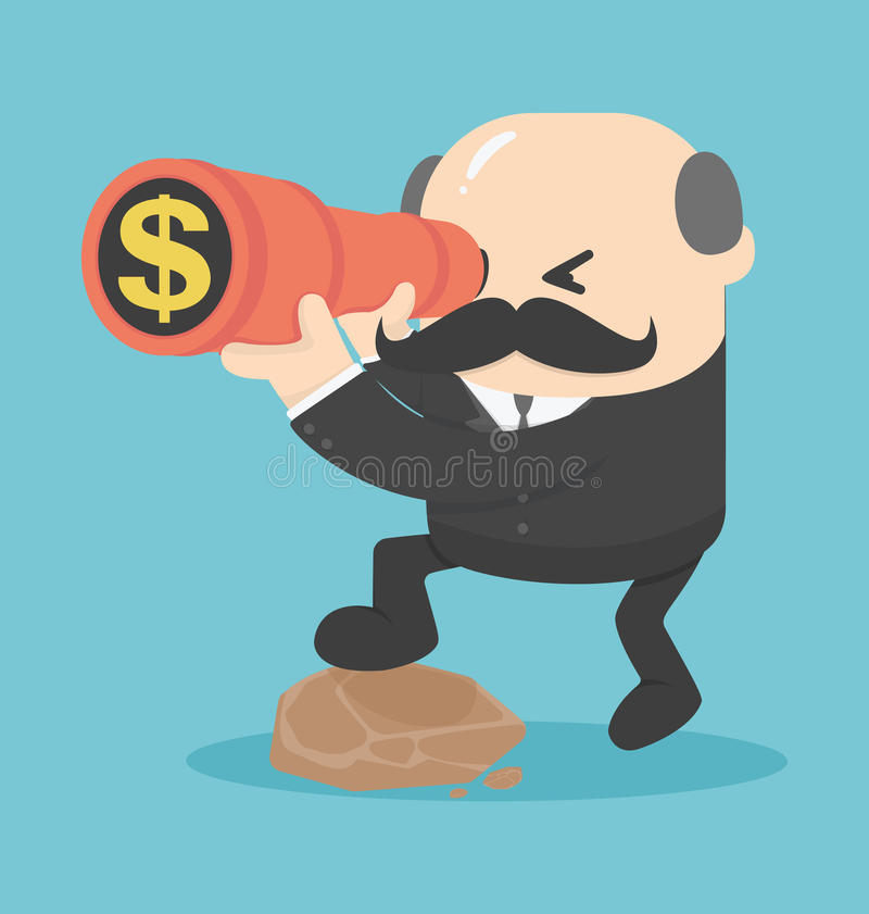 Businesses that are looking for money. Eps.10 stock illustration