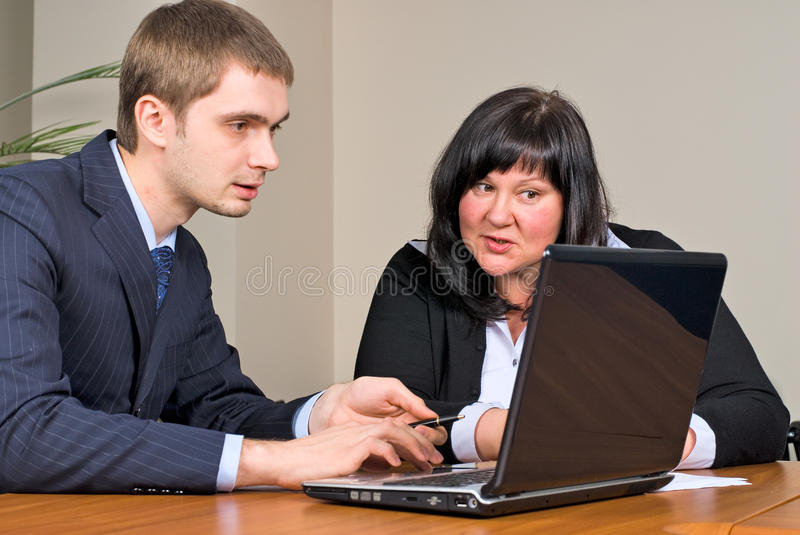 Download Businessgroup with laptop stock photo. Image of caucasian - 13519670