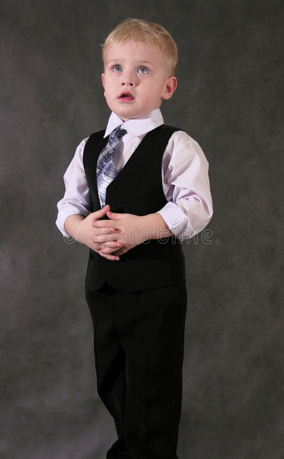 Businesskid royalty free stock images