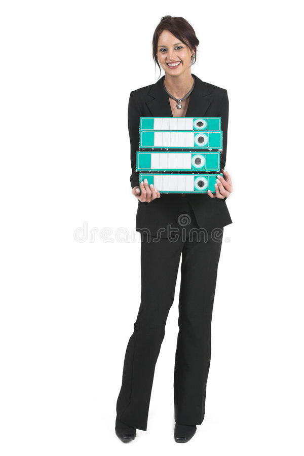 Businesslady #77 royalty free stock images