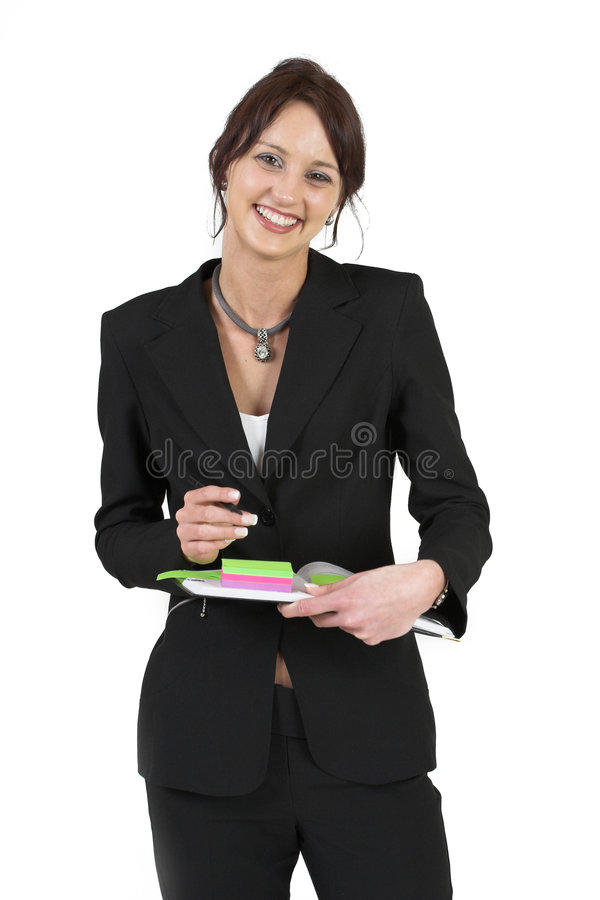 Download Businesslady #78 fotografia stock. Immagine di rifornimenti - 211450