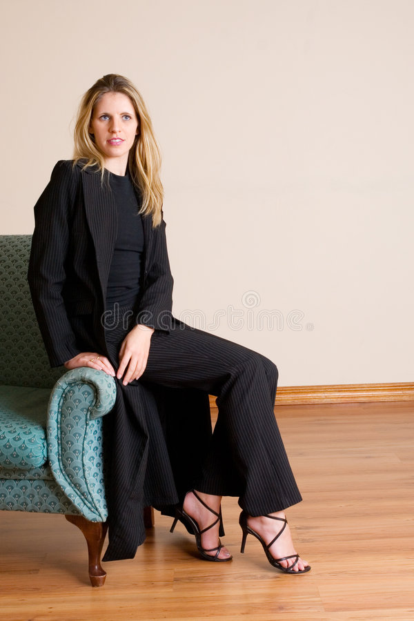 Businesslady #80 lizenzfreies stockfoto