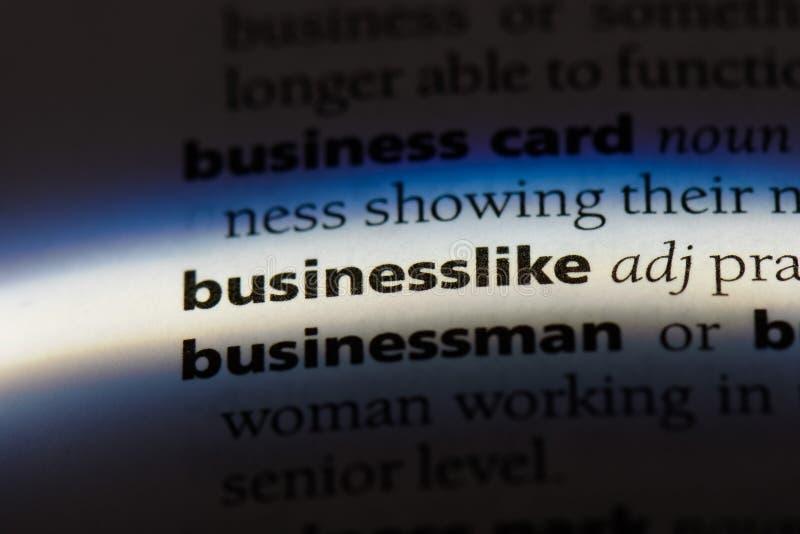 businesslike foto de stock