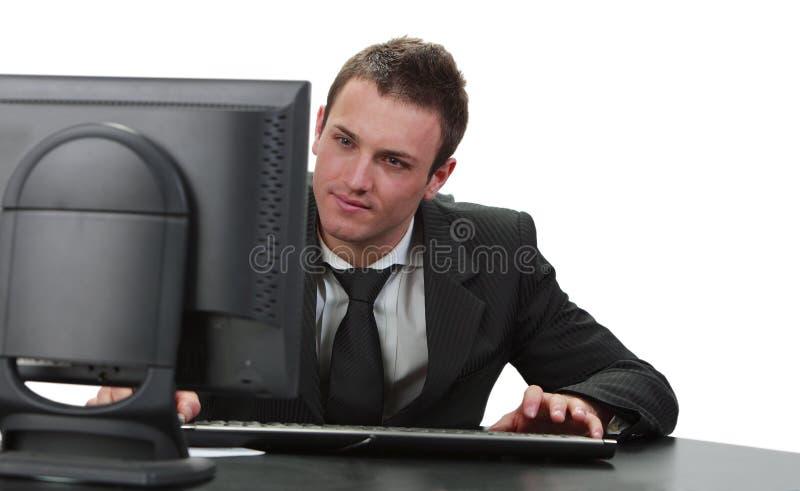 Download Businessman stock image. Image of boss, businessman, desktop - 14146915