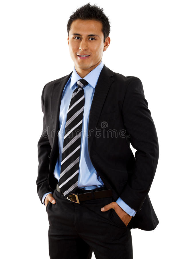 Download Businessman stock photo. Image of suit, vertical, latino - 14606826
