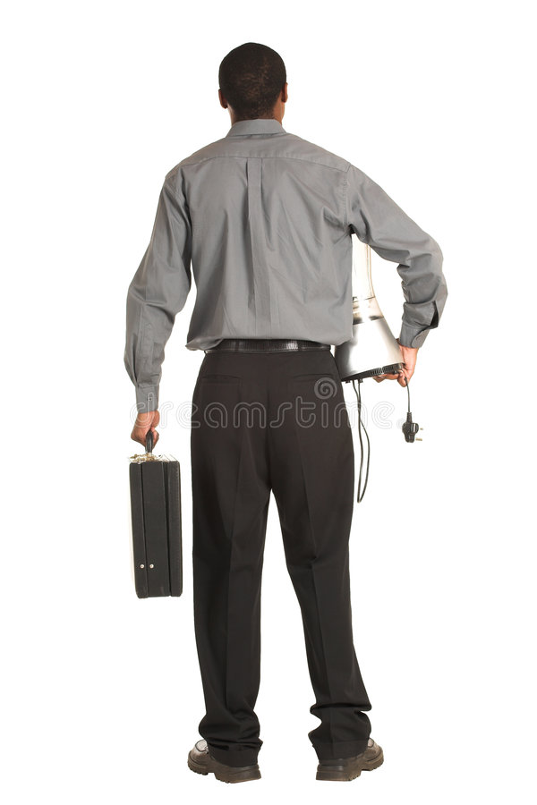 Businessman #163 royalty free stock image