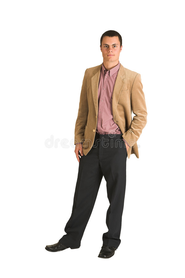 Businessman #194 royalty free stock photography