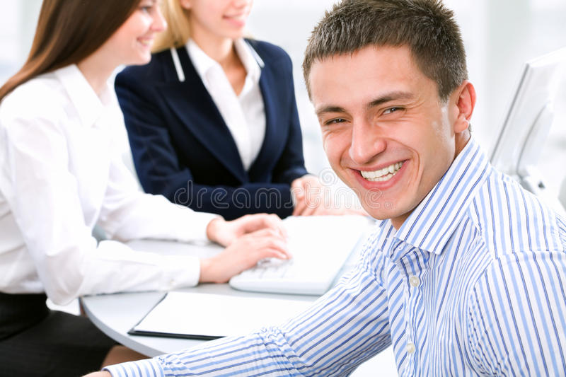 Download Businessman stock image. Image of handsome, happy, discussion - 20403125