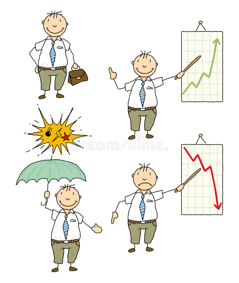 Download Businessman stock vector. Image of chart, businessman - 23205329